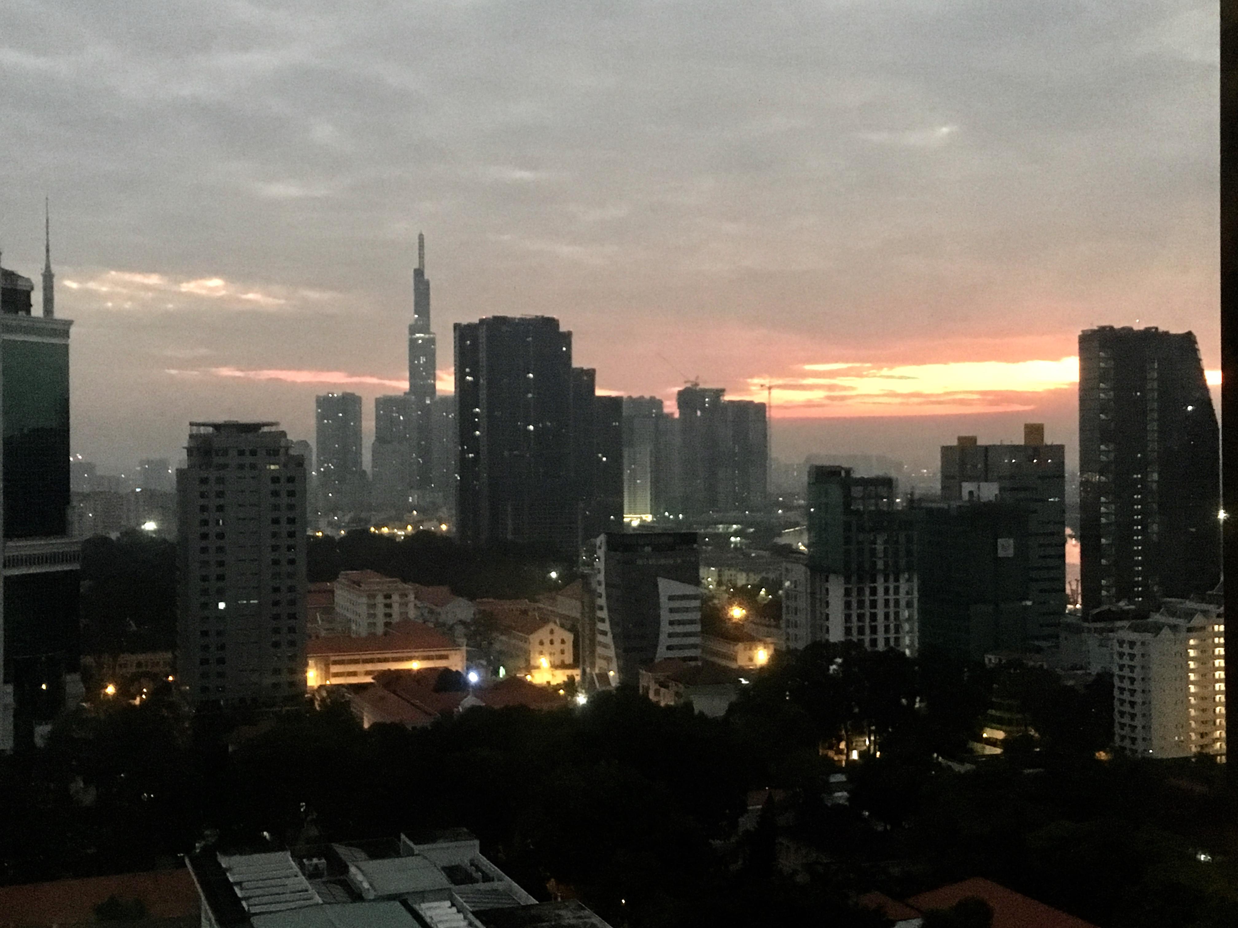 God Morning from Saigon
