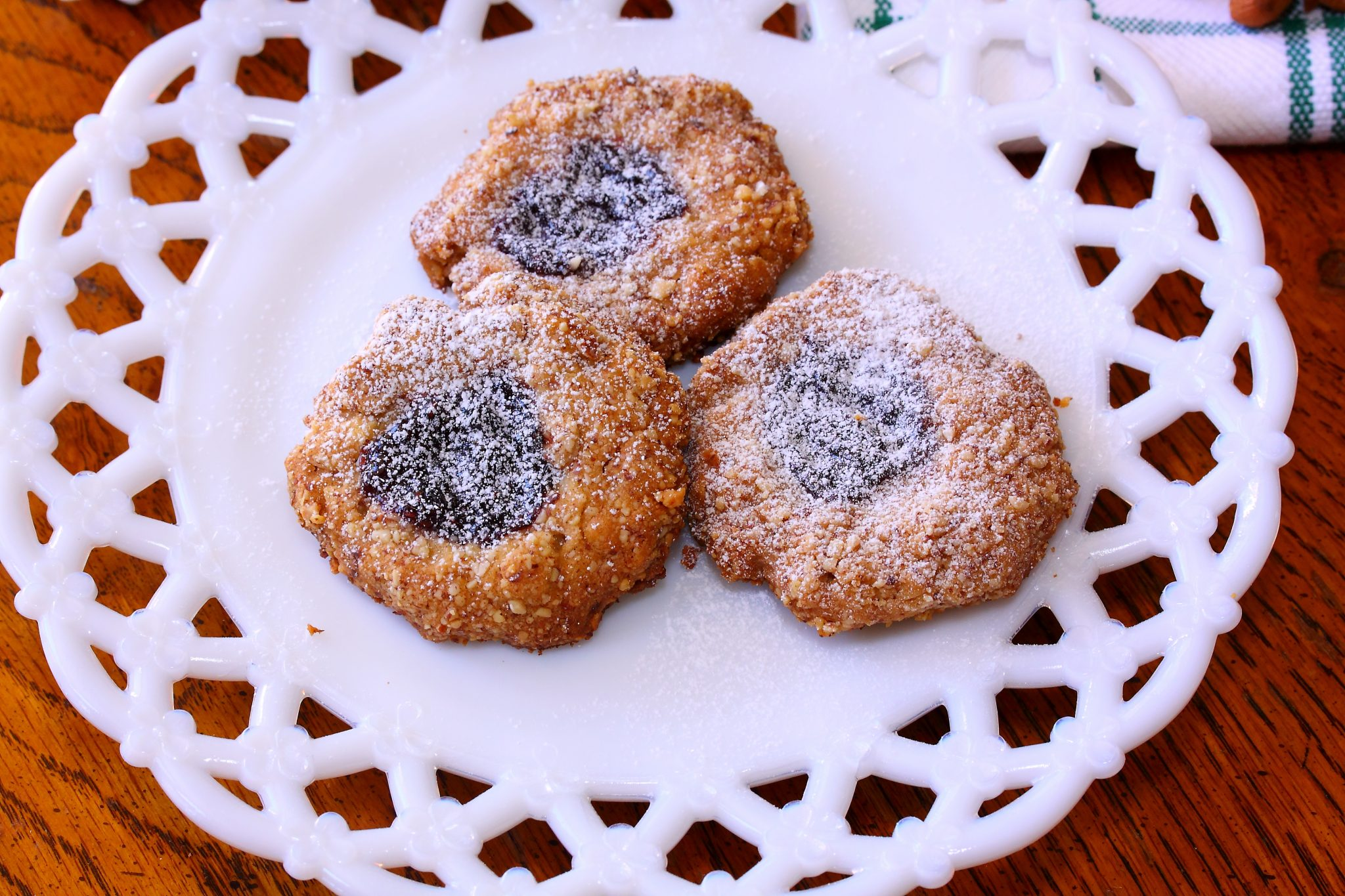 Oatmeal Forest Berries Thumbprints Cookies