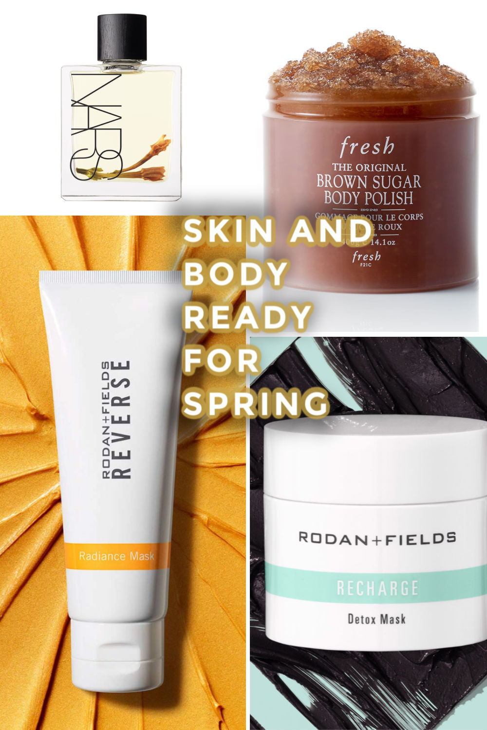 Skin and body ready for spring