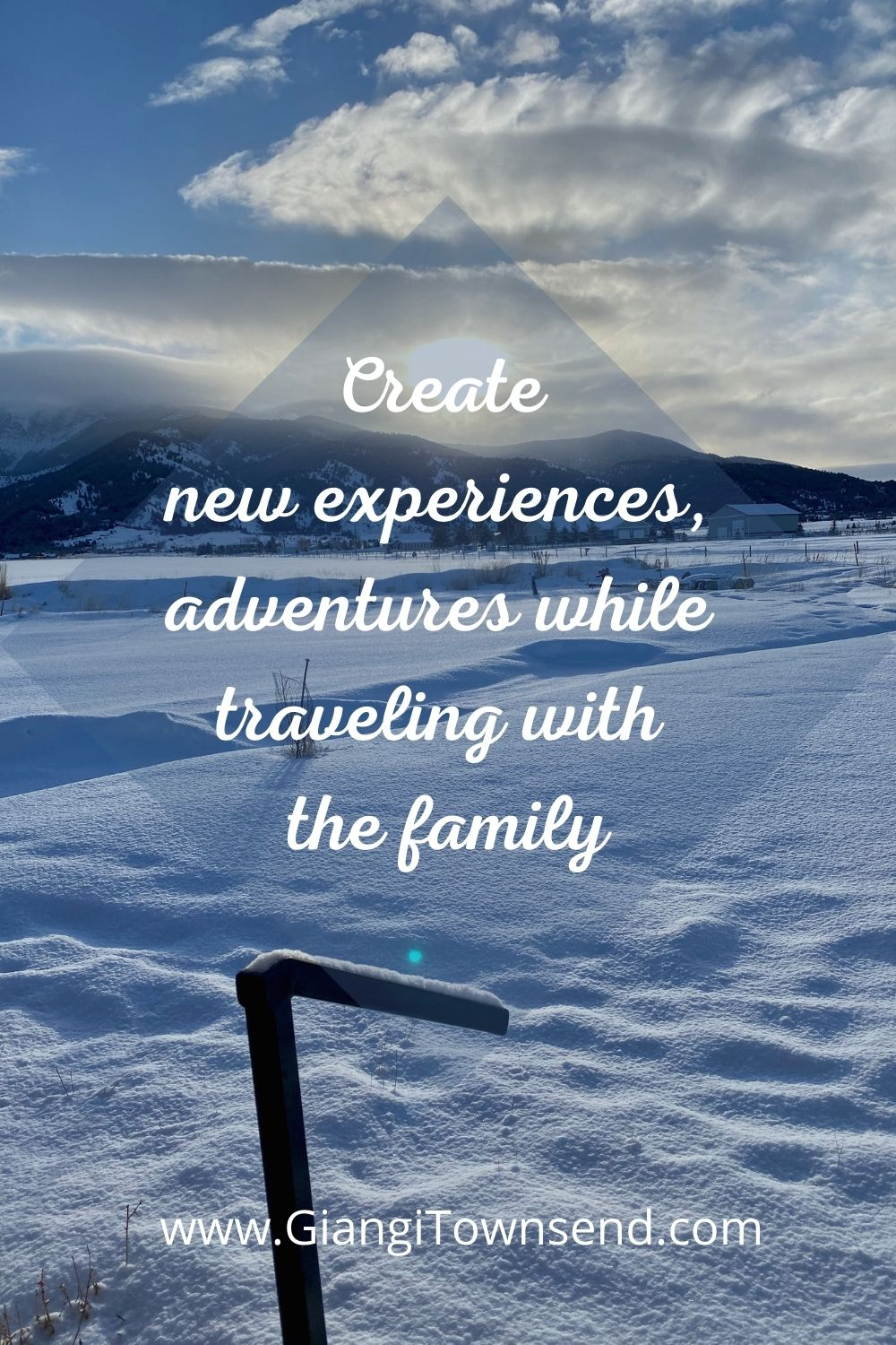 Create new experiences, adventures while traveling with the family